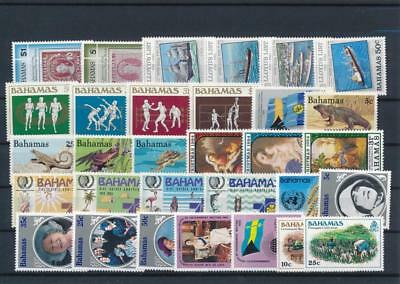 [G126401] Bahamas good lot of stamps very fine MNH