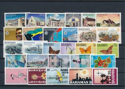 [G126402] Bahamas good lot of stamps very fine MNH
