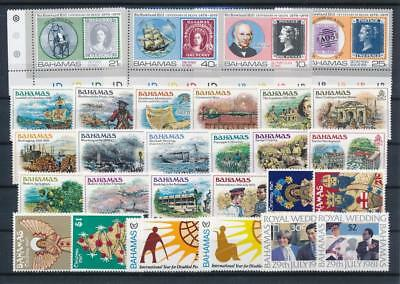 [G126404] Bahamas good lot of stamps very fine MNH