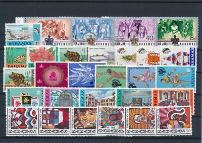 [G126405] Bahamas good lot of stamps very fine MNH