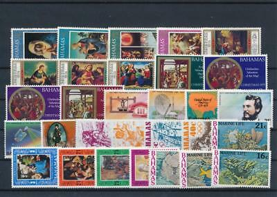 [G126407] Bahamas good lot of stamps very fine MNH