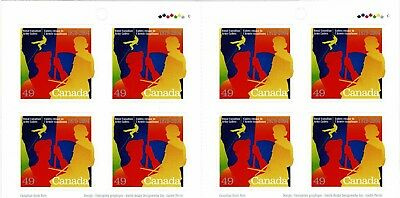 CANADA 2004 ROYAL CANADIAN ARMY CADETS 8 x SELF ADHESIVES IN BOOKLET SB298 MINT