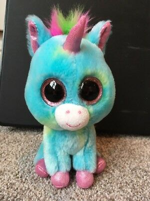 bb9c5a18cb0 TY BEANIE BOOS - TREASURE the UNICORN - No Tag - JUSTICE STORE ...