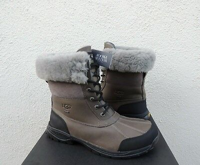 c078d151f6f UGG 2018 BUTTE Metal Grey Water-Proof Leather Winter Boots, Us 11 ...