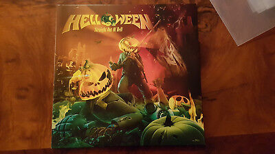 Helloween Straight Out Of Hell Gatefold Dolp Coloured