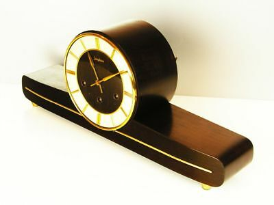 Pure Art Deco Westminster Chiming Mantel Clock From Junghans Germany