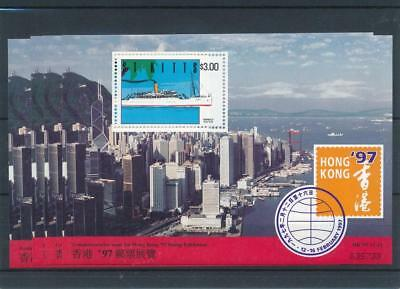 [17653] St Kitts 1997 : Boats - 4x Good Very Fine MNH Sheet