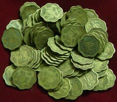 Republic India - 10 Paise - Nickle & Brass Coins - 50 Pieces Lot - 1968 To 1971