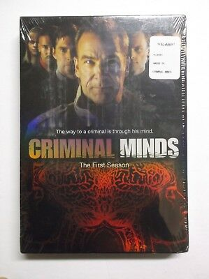 Criminal Minds - The Complete First Season (DVD, 2006, 6-Disc Set) BRAND NEW