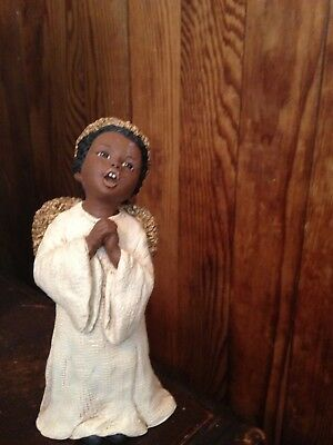 '94 Miss Martha Holcombe Original Niambi Angel Figurine w COA All God's Children
