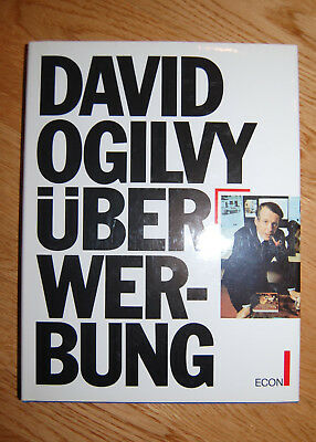 DAVID OGILVY ÜBER WERBUNG Marketing PR on ADVERTISING Praxis Econ -super Zustand