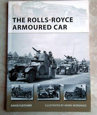 OSPREY: THE ROLLS-ROYCE ARMOURED CAR - World War I & II