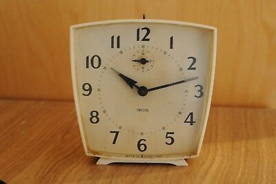 Vintage Smiths Wind-Up Alarm Clock - Working - 60s Retro Original, Made In GB