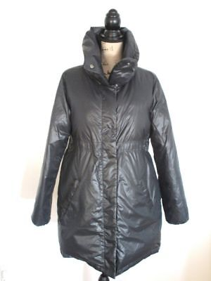 Gap Maternity Black Puffer Down Coat  L