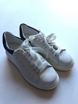 buy online dddba 6cb4e ALEXANDER MCQUEEN MADE IN ITALY Leather Trainers