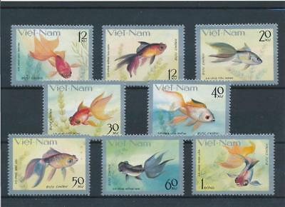 [109925] Vietnam 1977 Fishes good Set very fine MNH Stamps