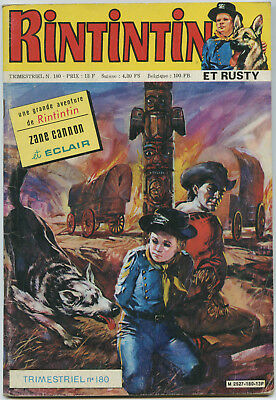Trimestriel Rintintin Et Rusty N° 180 – Sagedition - 1985