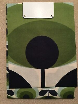 New Orla Kiely Set of 2 70's Oval Flower Tea towels - 2 Different Designs
