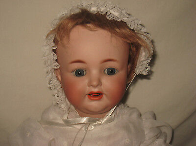 "Antique 20"" K*R Simon & Halbig German Bisque Head Character Child Doll #126 MA13"