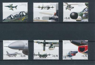 [38282] Portugal 2002 Aviation Planes Good set Very Fine MNH stamps
