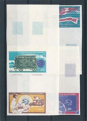 [38330] Dahomey 1974 UPU Good imperforated set Very Fine MNH stamps