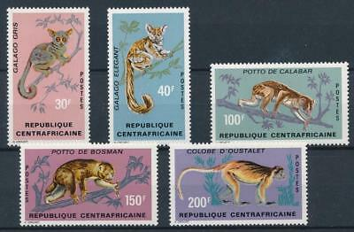 [38542] Central Africa 1971 Wild Animals Good set Very Fine MNH stamps