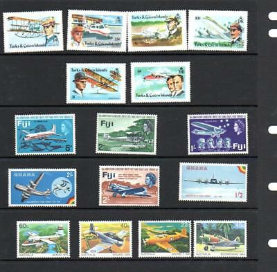 (F706)  Planes  MNH SETS & ODDS MORE LISTED