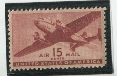U.S. Stamps Scott #C28 MINT,LH,F-VF+  (G8721N)
