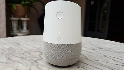 Google Home Smart Assistant - White Slate - US