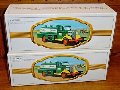 Two Hess Trucks - The First Hess Truck
