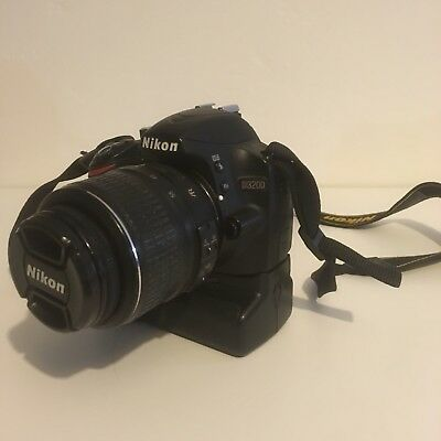 nikon d3200 18-55mm appareil photo reflex + grip