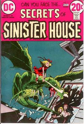 SECRETS OF SINISTER HOUSE 7 VERY FINE  Nov. 1972 COMICS BOOK