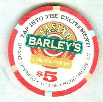 BARLEYS CASINO (LAS VEGAS) $5 CHIP (G.O.) (N1256) (SU-NEW).xls