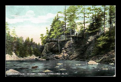 Dr Jim Stamps Us Contoocook River Park Concord New Hampshire View Postcard