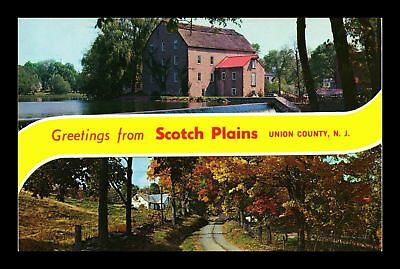 Dr Jim Stamps Us Greetings From Scotch Plains Union County New Jersey Postcard