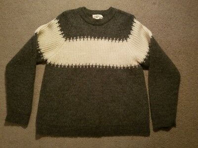 J. Crew 100% Wool Sweater m/i Hong Kong Tag L see measurements Woman or Youth GC