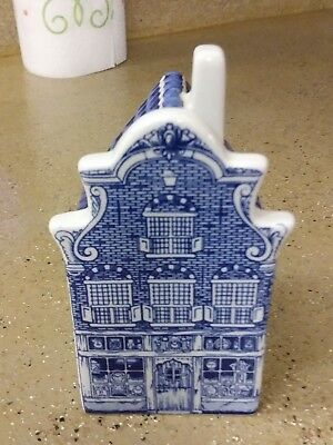 Delft Blue Crown Mark 1690-1 Holland Blue White House Delfts Hand Painted