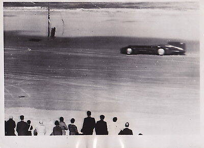 SIR MALCOLM CAMPBELL DAYTONA WORLD'S SPEED RECORD 253 mph * VINTAGE 1932 photo