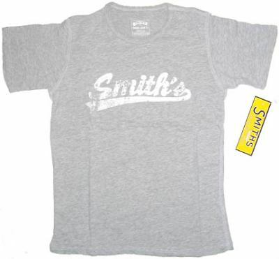 Smith's American Grey Distressed Tee T-Shirt M/L *NEW*