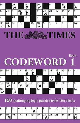 The Times Codeword, Book 1: 150 Cracking Logic Puzzles by Puzzler Media (English