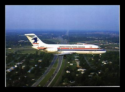 Dr Jim Stamps United States Postal Service Airplane Continental Size Postcard