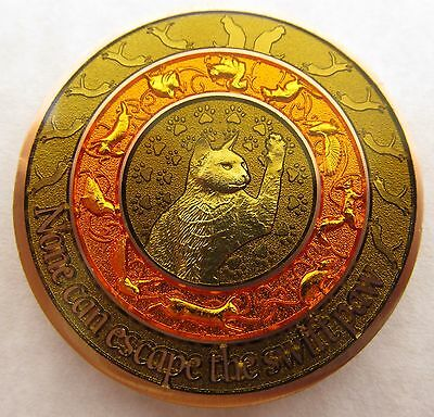 Duncan Geocoin - Chipmunk Edition - Cat Coin
