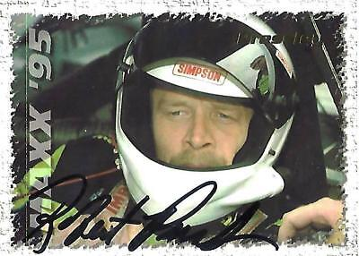 ROBERT PRESSLEY - Hand Signed Autographed  1995 Maxx Series One  Card #154