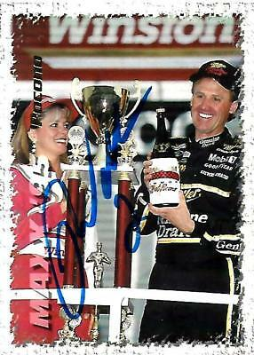 RUSTY WALLACE - Hand Signed Autographed  1995 Maxx Series One  Card #87