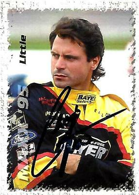CHAD LITTLE - Hand Signed Autographed  1995 Maxx Series One  Card #162