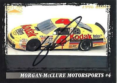 SERLING MARLIN - Hand Signed Autographed  1996 Racer's Choice  Card #28