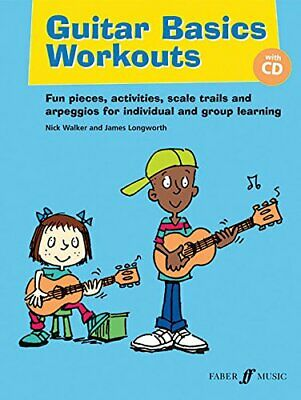 Guitar Basics Workouts with Free Audio CD by Nick Walker Book The Cheap Fast