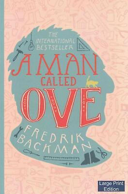 A Man Called Ove (Large Print Edition) by Fredrik Backman (English) Paperback Bo