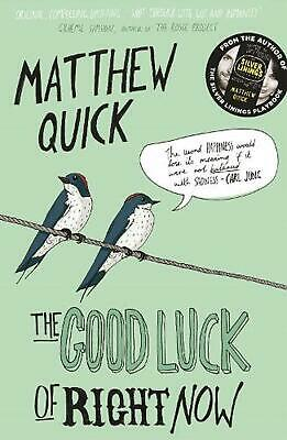 Good Luck of Right Now by Matthew Quick (English) Paperback Book Free Shipping!