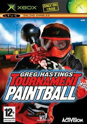 Greg Hastings' Tournament Paintball (Xbox) - Game  UUVG The Cheap Fast Free Post